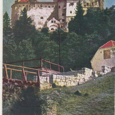 bnk cp Castelul Bran - Vedere - circulata