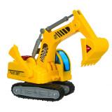 Excavator cu senile Builder, scara 1:18, rotire 360 grade, Oem