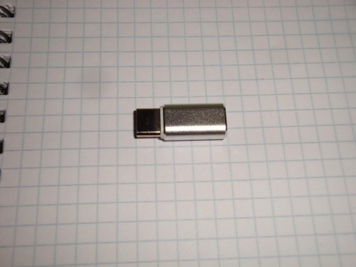 Adaptor incarcator telefon sau calculator micro USB la USB tip C