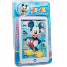 Tableta interactiva Mickey Mouse cu sunet la apasare