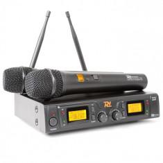 Power Dynamics PD781, sistem de microfon fără fir UHF cu 2 x 8 canale