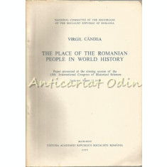 The Place Of The Romanian People In World History - Virgil Candea