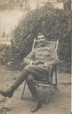 A924 Ofiter roman prizonier lagar Krefeld primul razboi mondial