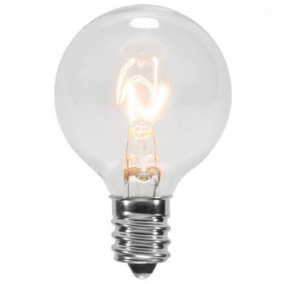 Bec Filament ZigZag Edison din Sticla E12 7W foto