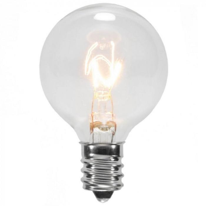 Bec Filament ZigZag Edison din Sticla E12 7W