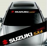 Sticker parasolar auto SUZUKI (126 x 16cm), 4World