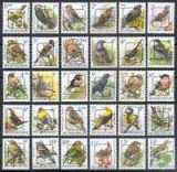 BELGIA-4=Pasari-30 timbre preobliterate in stare nestampilata,MNH, Nestampilat