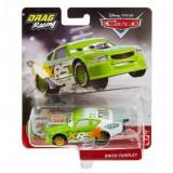 Disney Cars XRS - masinuta metalica de curse personajul Brick Yardley, Mattel