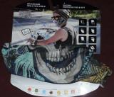 Schelet,mandibula,Bandana ,Buff,guler circular bicicleta,bike,sporturi de iarna