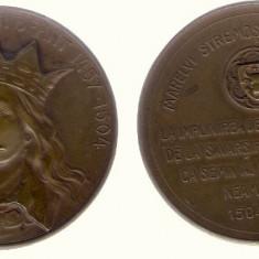 Medalie SNR 1904 - Stefan cel Mare, 400 ani de la moarte