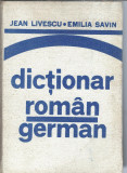 Dictionar roman german - Jean Livescu (cartonat)