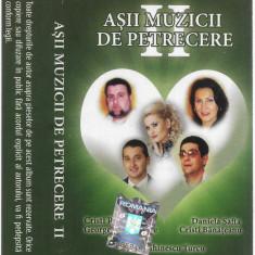 Caseta Așii Muzicii De Petrecere II, originala, manele