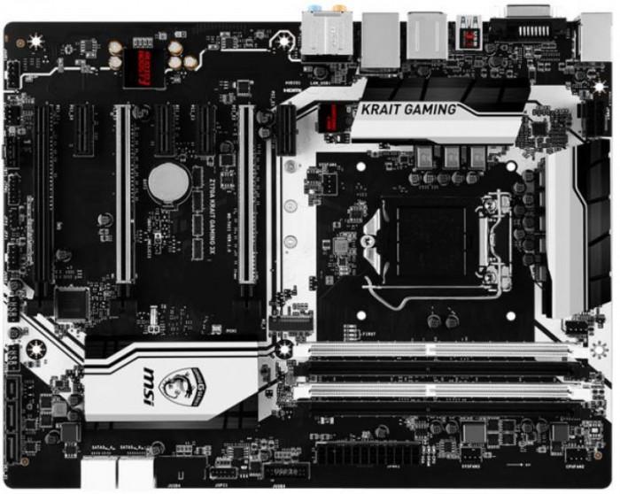 Placa de baza MSI Z170A KRAIT GAMING 3X, Intel Z170, LGA 1151