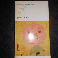 CAROLA GIEDION WELCKER - PAUL KLEE