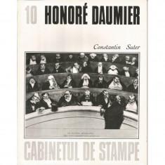 Honore Daumier (vol. 10, seria Cabinetul de stampe) - Constantin Suter