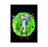 Mini Poster - Rick and Morty Crazy Time   Displate