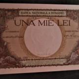 Carol II.....1000 lei 1938......PERFECT UNC...cu filigran