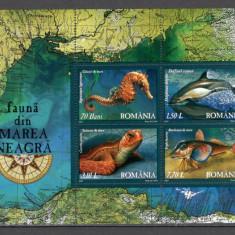 Romania.2007 Fauna din Marea Neagra-Bl.  DC.516