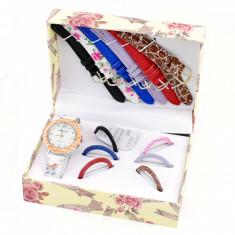 Set cadou ceas dama Geneva, italian design Crystal Flower - MF147FLW