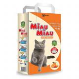 Asternut igienic, Miau Miau, Portocala, 6 kg