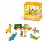 Set de joaca din lemn Mini povesti - Safari