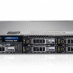 Server DELL PowerEdge R620, Rackabil 1U, 2 Procesoare Intel Six Core Xeon E5-2640 2.5 GHz, 64 GB DDR3 ECC Reg, 8 Bay-uri de 2.5 inch, Raid Controlle