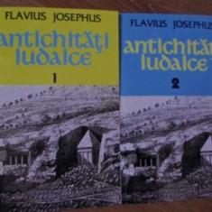 ANTICHITATI IUDAICE VOL.1-2 - FLAVIUS JOSEPHUS