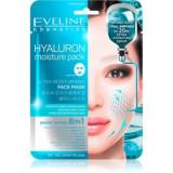 Eveline Cosmetics Hyaluron Moisture Pack mască cu efect calmant și super hidratant