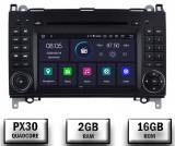 Cumpara ieftin Navigatie Mercedes Benz VW A B-Class Vito Viano Sprinter Crafter, Android 10, QUADCORE PX30 2GB RAM + 16GB ROM cu DVD, 7 Inch - AD-BGWMBSPR7P3