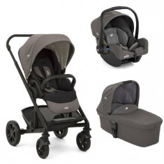 Carucior multifunctional 3 in 1 Chrome Foggy Gray Joie