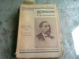 ION GHICA SCRISORI CATRE V. ALECSANDRI
