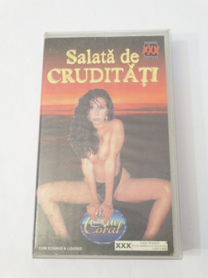 Caseta video VHS originala film tradus Ro XXX - Salata de Cruditati foto
