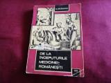 N VATAMANU - DE LA INCEPUTURIL MEDICINEI ROMANESTI