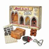 Set 4 in 1 puzzle logic Leonardo