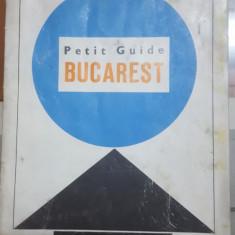 București, Mic ghid, cu o harta color, Atracții turistice, 1968