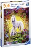 Puzzle Unicorn Si Manz, 500 Piese, Ravensburger