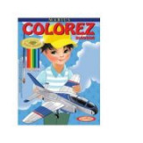 Marius. Colorez avioane - Petru Ghetoi