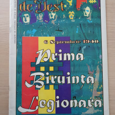 gazeta de vest septembrie 1994-art.prima biruinta legionara,horia sima,radu gyr