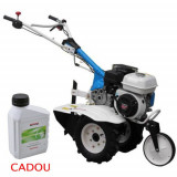 Motosapa AGT 5580, Honda GP200, 6.5 CP, benzina, 2+1 viteze + roti 4.00-8, plug bilonat