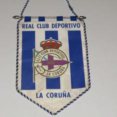 Fanion fotbal - REAL CLUB DEPORTIVO LA CORUNA (Spania)