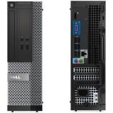 Sistem desktop Dell Refurbished Optiplex 3020 Intel Core i5-4570 8GB DDR3 128GB SSD Windows 10 Home Black
