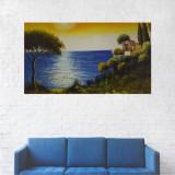 Tablou Canvas, Casa de la Malul Marii - 40 x 70 cm