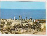 bnk cp Cetatea Histria  - Vedere - circulata - marca fixa