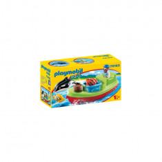 Playmobil 1.2.3 - Pescar cu barca