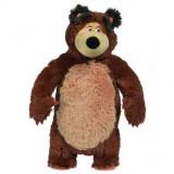 Jucarie de plus Simba Masha and the Bear Bean Bag Bear 40 cm