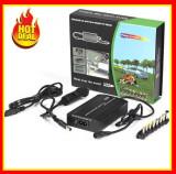 Cumpara ieftin Incarcator laptop universal PRIZA AUTO 120W Incarcator 12-24V 8 Mufe