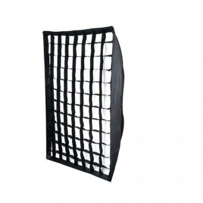 Softbox 70x100cm cu grid honeycomb montura Elinchrom foto