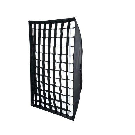 Softbox 70x100cm cu grid honeycomb montura Elinchrom