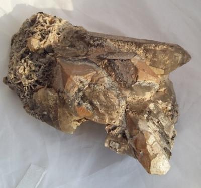 CUART FUMURIU mare - CRISTAL - roca - minerale floare mina foto