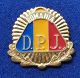 Insigna Militara DPJ GARDIENI PUBLICI POLITIA COMUNITARA Coifura insemn cascheta